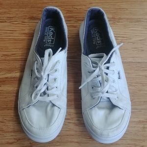 White Keds Ortholite Casual Canvas Sneakers Sz 7